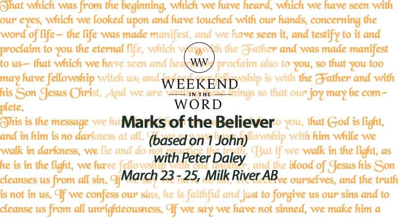 Weekend in the Word 2018
